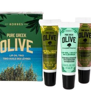 🆕Korres Pure Greek Lip Oil - 3 Pack